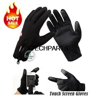 Windstopper Winter Warm Gloves Windproof Outdoor Sports Touch Screen Gloves Bicycle Hiking Motorcycle Riding Skiing