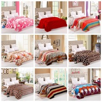 Home Textile,150*200cm,soft cloud fleece blankets on the bed, baby kids wedding adult blanket bedclothes,cover throw bed sheetJS