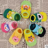 Cotton cartoon socks non-slip floor boat socks toddler non-slip socks