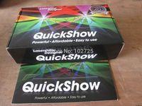 free shipping 2pcs/lot PANGOLIN FB3-QS QUICKSHOW LASER SHOW DESIGNER SOFTWARE