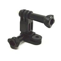 Wholesale Gopro Action Cameras Accessories 3 Way Adjustable Pivot Arm Thumb Knob Roll Bar Joint Gopro Hero 1 2 3 GP15  3pcs/lot