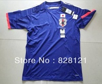 ^-^2014 World Cup Best Thai Quality Adizero Japan Home Official Soccer Jerseys Football Jerseys Polyester Shirt Soccer Clothes