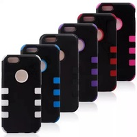 10PCS NEW Hybrid Impact Rubber Matte TPU Gel Case Cover For iphone 6 (4.7)