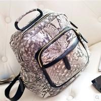 Autumn/Spring New Arrival,Fashion Women Splice Serpentine Bag,Fashion Brand Shoulder Bag,Leisure Bag, 2 Colors