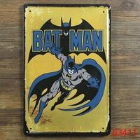 BATMAN Retro Superhero, Comics, Tin Sign, Home Decor, Man Cave D-40