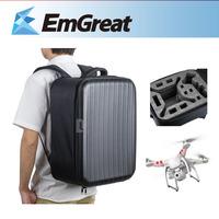 New Luxurious PU Shoulder Bag Backpack Case Inside for DJI Phantom 1/2 Vision2/2+ FC40 P0016991 Free Shipping