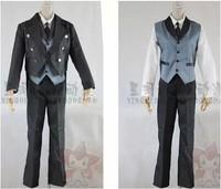 cosplay anime costume Kuroshitsuji Clothes Sebastian Michaelis A suit