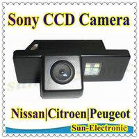 Free Shipping !! SONY CCD Chip Car Rear View REVERSE CAMERA for NISSAN QASHQAI/X-TRAIL/Geniss/Pathfinder/Dualis/Navara/Juke
