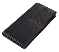 wholesale factory sales genuine leather man long wallets ,fashion cowhide card purses 8059