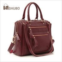 SHUBO Famous Brands Bags 2014 Fashion Women Shoulder Messenger Handbags Retro Genuine Leather Bag Tote Bolsas Femininas SH085