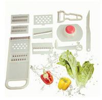 Household Multi-Functional Shredder Multi-Function Shredder 11 Piece/Shred/Rub Silk Grater/Paring Knife/Cooking Tools SRCF5001