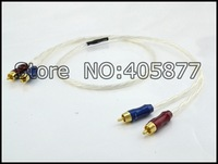 Pair 1.5M Nordost Odin RCA Audio Interconnect cable
