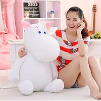 Genuine 25cm Moomin Hippo Plush Toy Stuffed Doll little fertilizer valentine Park Spring bom Free shipping,X953