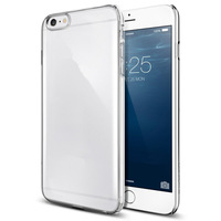 Ultra Thin 5.5'' Clear PU Phone Case Cover Case For Apple iphone 6 plus Case