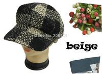 fashion octagonal newsboy cap beret hat autumn and winter female cap  Cabbie Hat /Flat Cap / Cap Fit