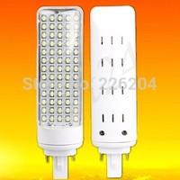 Super Bright 270 degree 9W G24 led light 84LED 3528SMD led lighting Warm White AC 110V-240V