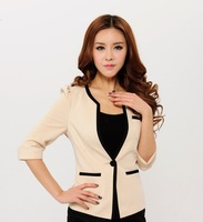 Formal Uniforms Blazer Women Work Wear Jackets Feminino Woman Spring Autumn Coat Tops Blaser For Office Ladies Plus Size 4XL