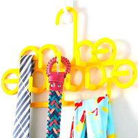 Fashion Scarves rack tie rack strap holder silk scarf rack scarf rack multi-purpose rack free shipping