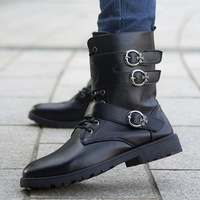 2014 new autumn men's fashion men's Martin boots tooling boots