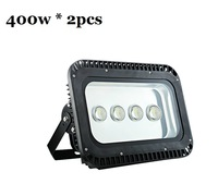 outdoor led flood light 400w waterproof IP65 85-265v high power ledTunnel Lamp Floodlight free shipping