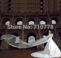 480cm Bridal Veils Elegant Wedding Accessories Dress Bride Cathedral Chapel