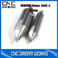 3PCS/ set Carbide center drill  2.05.040,2.56.045,3.08.048 tungsten steel center drill 1050103D