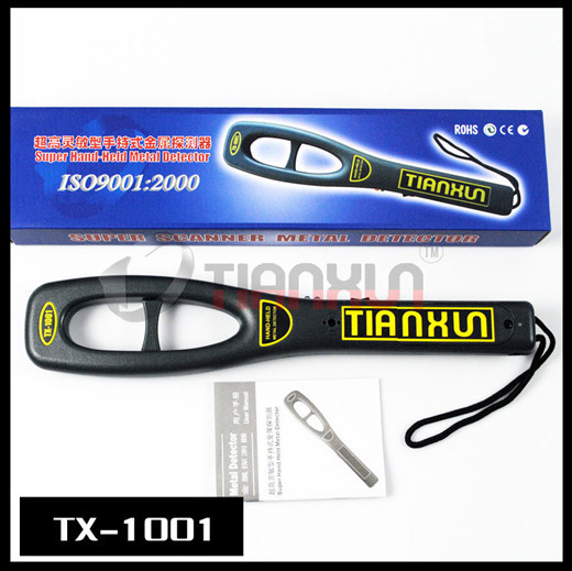 TX-1001 Handheld Metal Detector with Rechargeable Security Scanner Portable(China (Mainland))