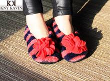 trasporto libero 2014 di vendita calda coperta appliques pavimento caldo senza danneggiare il pavimento a casa di cotone imbottito scarpe all'ingrosso SHS061(China (Mainland))
