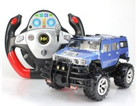 1:16 4CH RC Off Road Car High speed vehicles SUV G-sensor of Hummer Multiple document Remote control cars for Electric kids toys