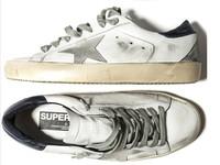 New Golden Goose white New York Sneaker Worn Men Women Low Cut Shoes Sneakers Men's and women's luxury brand Retro skate shoes