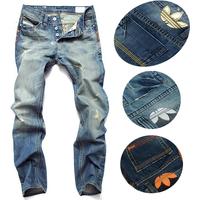 Wholesale fashion high quality Nostalgic blue cotton brand men's jeans New fashion 2014 leisure casual denim trousers pants