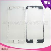 Crazy Promotion: For Apple iphone 6  Bracket Housing Middle Bezel Frame 100% Guarantee black/white Free shipping