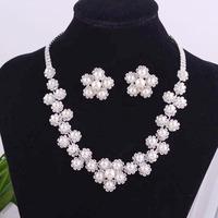 faux PEARL  WeddingJewelry Set,Fashion Necklace Earrings NJ-822  Holiday Sale NEOGLORY  Jewelry Outlets  Rihood Trading