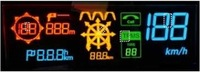 Wholesale 4 inch Large size Driving Head Up Display Sun visible OLED screen HUD transparent display screen