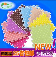 2014 The top plastic foam pad puzzle floor floor mat cushion splicing children 30*30*2.5CM  4pcs/Lot carpet thickening