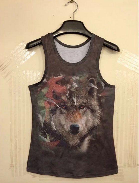 cool 3d дикого волка новый стиль