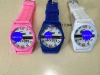 men women's fashion jelly watches new brand quartz wristwatches Women Men muticolor sports rubber watch
