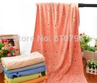 Soft Baby Bath Towel 70*145cm Absorbent Microfiber Beach Towel Boys Girls Drying Washcloth Swimwear Shower Cartoon Towels