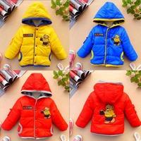 IVE 2014 Kids Bear Jacket Children Outerwear Boys Casual Coat Children Clothes