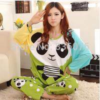 Free shipping new women's pajamas Autumn and winter cotton women sleepwear woman pajamas set Long sleeve  free shipping