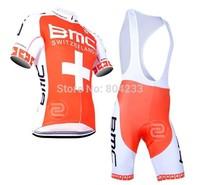 Free Shipping!2014 BMC Bicycle jerseys and bib short/cycling clothes/bike clothesSize:S-XXXL