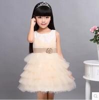 Princess skirt wedding costumes children's wear evening dress skirt