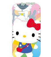 hot cartoon cat style mixed hard white case cover for Motorola Moto G 1pcs/lots + free shipping