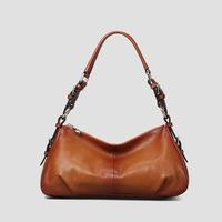 Woman's bag 2015 New 100% genuine leather Stylish and elegant Woman handbag Leather shoulder bag for women