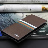 2014 new men wallet long screen printing purse fashion carteira vertical section wallets bag free shipping