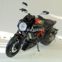 Brand New 1/12 Scale Motorbike Model Toys DUCATI Diavel Super Street Bike Diecast Metal Motorcycle Model Toy For Gift/Kids