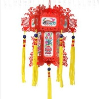 Paper lanterns folk arts and crafts car accessorie red surplus year after year lantern,Furnishing decoration, interior products