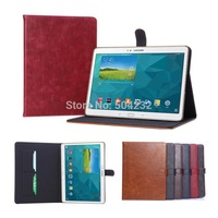 D-S High Quality Luxury Card Wallet Stand Leather Case Folio Cover Protective Skin For Samsung Galaxy Tab S 10.5 SM-T800