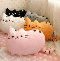 40*30cm plush toy stuffed animal doll,talking anime toy pusheen cat for girl kid kawaii,cute cushion brinquedos,X955