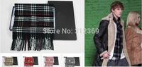 Free Shopping Winter Scarf Wool Pashmina Scarves Polar Fleece Scarves Fashion Tartan Scarf Mixed Color Style100% Wool Scarf